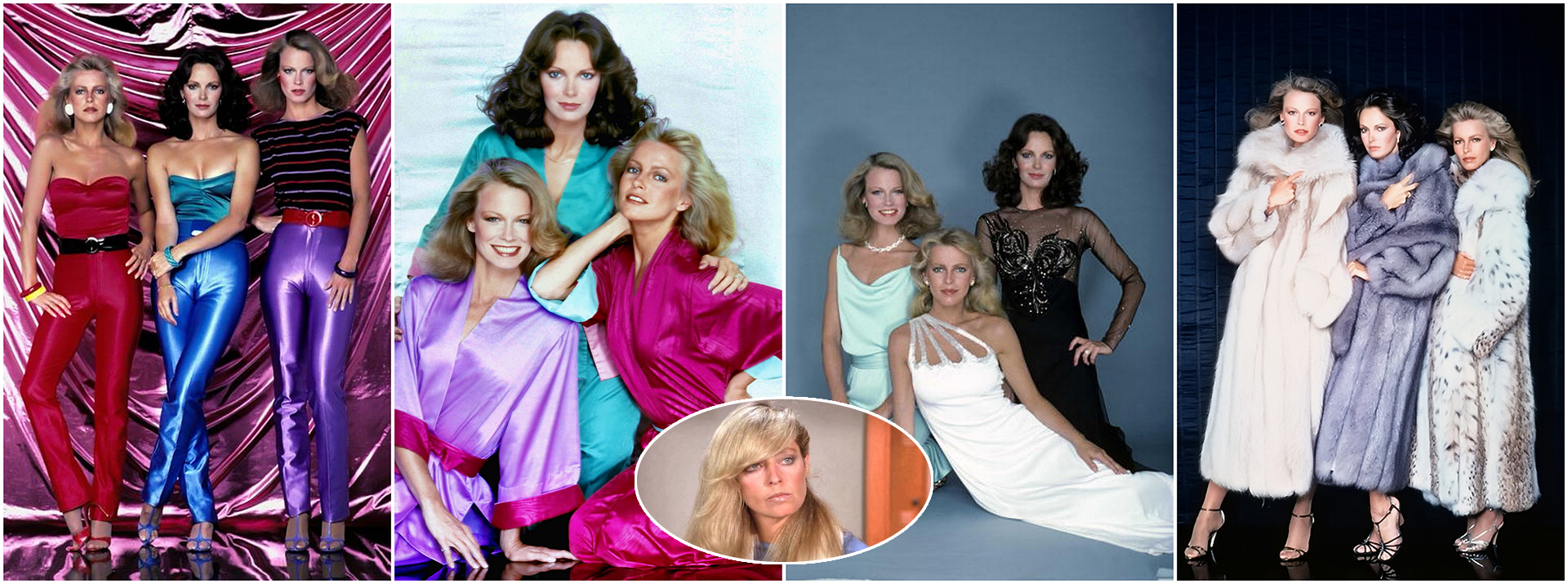 Charlie's Angels - Season 4: Jaclyn Smith, Cheryl Ladd, Shelley Hack & Farrah Fawcett